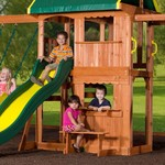 Backyard Discovery™ Prairie Ridge Wooden Swing Set - view number 3