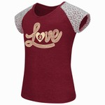 Colosseum Athletics Girls' Florida State University All About That Lace T-shirt