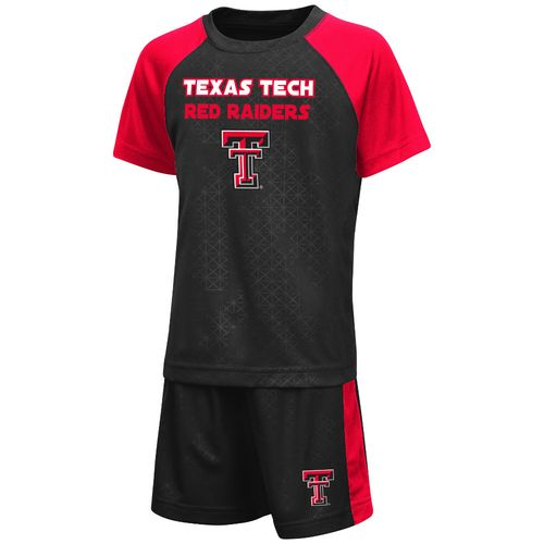 Colosseum Athletics Toddler Boys' Texas Tech University Gridlock Set