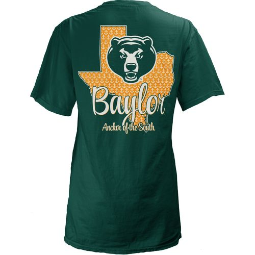 Three Squared Juniors' Baylor University State Monogram Anchor