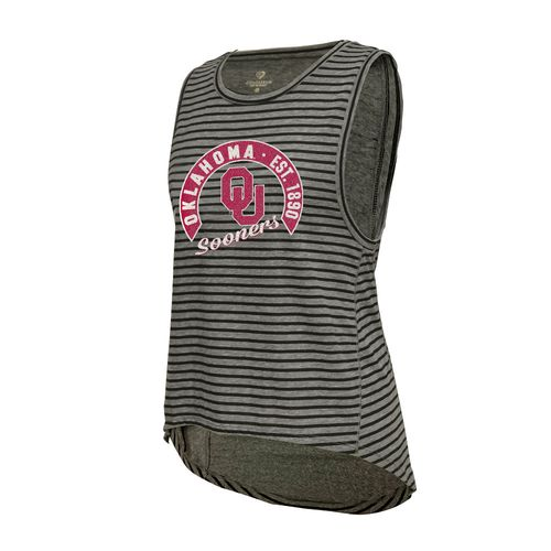 Colosseum Athletics™ Women's University of Oklahoma Stay In Your Lane Tank Top