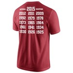 Nike Men's University of Alabama Saban Rolls T-shirt