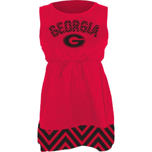 Klutch Apparel Toddlers' University of Georgia Chevron Dress