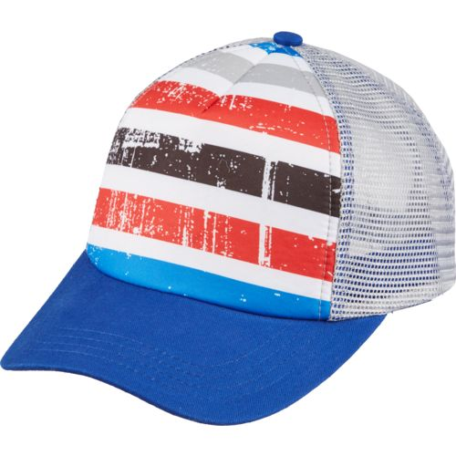 O'Rageous Boys' Grunge Stripe Trucker Hat