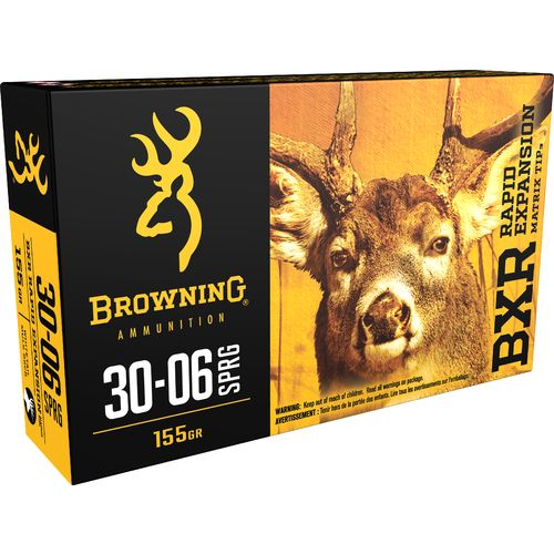 Browning Deer Hunting .30-06 Springfield 155-Grain Rifle Ammunition