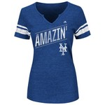 Majestic Women's New York Mets Success is Earned T-shirt