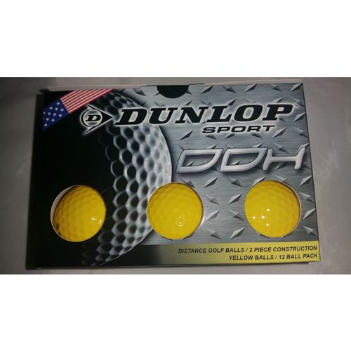 Dunlop DDH Distance Golf Balls 12-Pack