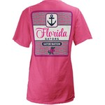 Three Squared Juniors' University of Florida Knotty Tide T-shirt