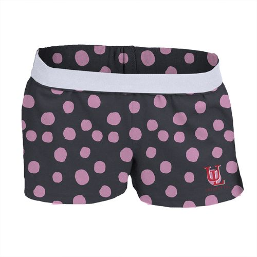 Soffe Girls' University of Louisiana at Lafayette Printed Authentic Low Rise Short