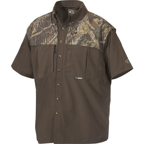 Display product reviews for Drake Waterfowl Men's EST Vented Windshooter's Short Sleeve Shirt