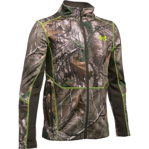 Under Armour™ Boys' Scent Control Armour® Fleece Full Zip Jacket