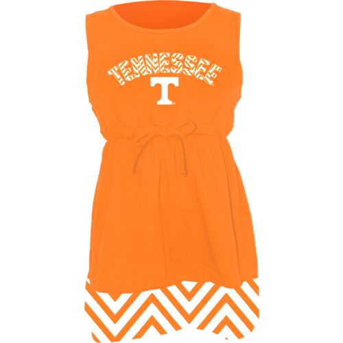 Klutch Apparel Toddlers' University of Tennessee Chevron Dress