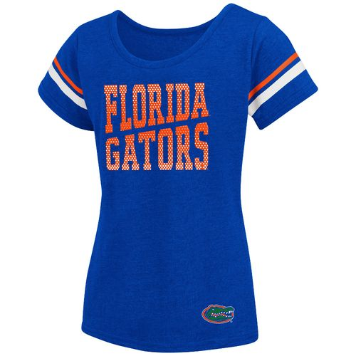 Colosseum Athletics™ Girls' University of Florida Fading Dot T-shirt