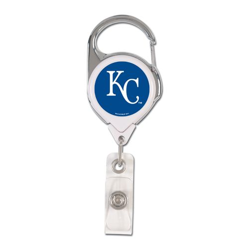 WinCraft Kansas City Royals Retractable Badge Holder - view number 1