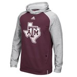 adidas™ Men's Texas A&M University Sideline Player Hoodie