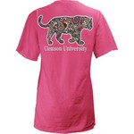 Three Squared Juniors' Clemson University Preppy Paisley T-shirt