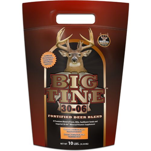 Display product reviews for Big Tine 30-06 10 lb. Fortified Deer Blend