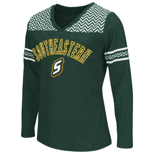 Colosseum Athletics™ Girls' Southeastern Louisiana University Cupie Long Sleeve T-shirt