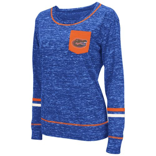 Colosseum Athletics™ Women's University of Florida Homies Raw Edge Pocket T-shirt