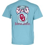 Blue 84 Women's University of Oklahoma Mason Jar Overdyed T-shirt
