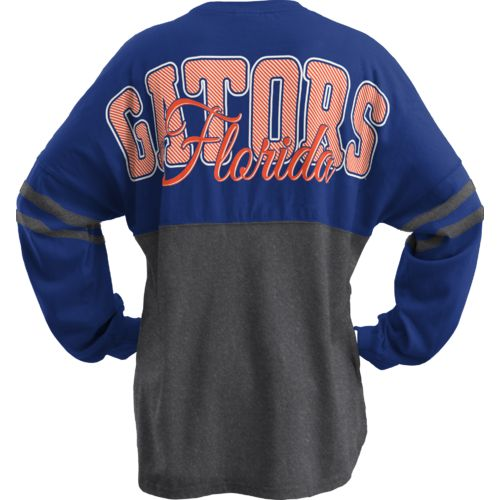 Three Squared Juniors' University of Florida Varsity Script Logo Sweeper T-shirt