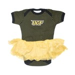 Two Feet Ahead Infant Girls' University of Central Florida Pin Dot Tutu Creeper - view number 1