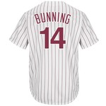 Majestic Men's Philadelphia Phillies Jim Bunning #14 Cool Base Cooperstown Jersey
