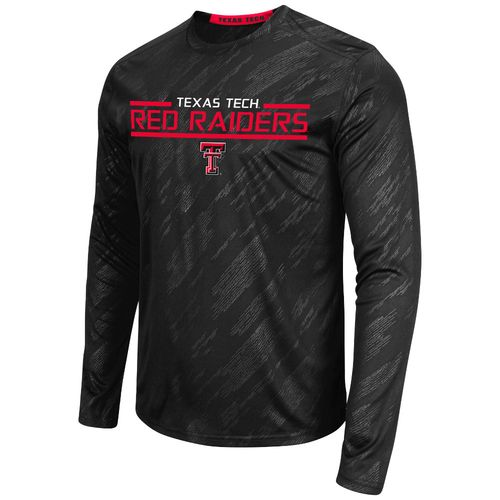 Colosseum Athletics™ Men's Texas Tech University Sleet Embossed Long Sleeve T-shirt