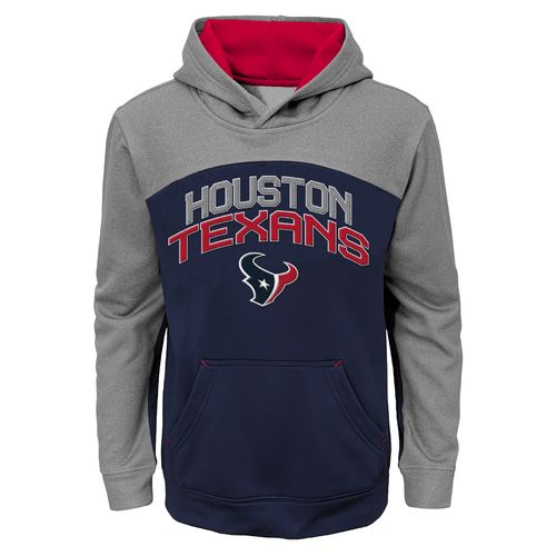 NFL Boys' Houston Texans Arc Pullover Hoodie