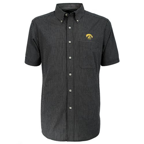 Antigua Men's University of Iowa League Short Sleeve Shirt - view number 2
