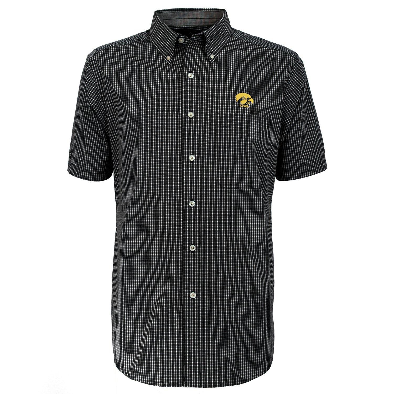 Antigua Men's University of Iowa League Short Sleeve Shirt