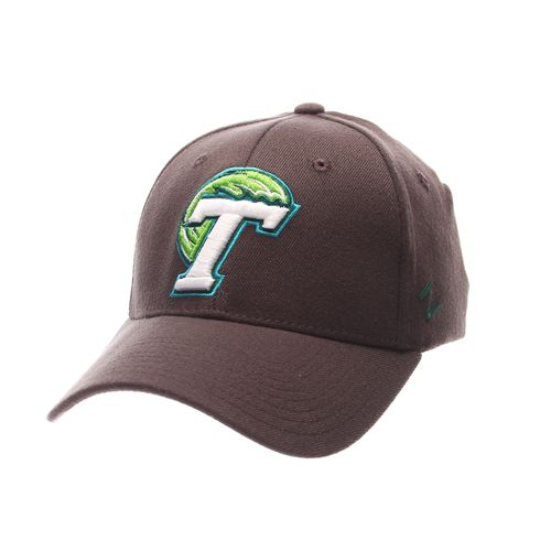 Zephyr Men's Tulane University Charcoal Flex Cap