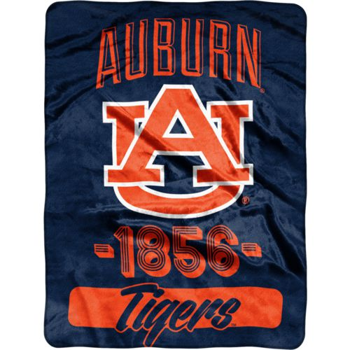 The Northwest Company Auburn University 40 Yard Dash Micro Raschel Throw