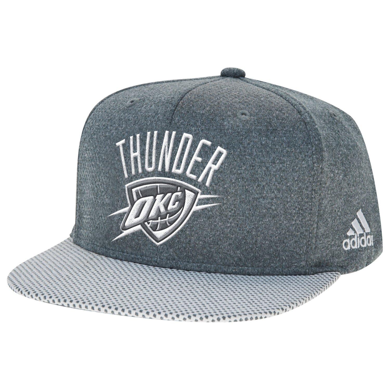 adidas™ Men's Oklahoma City Thunder Logo Flat Brim