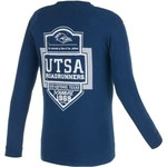 Image One Men's University of Texas at San Antonio Finest Shield Comfort Color Long Sleeve T-shi