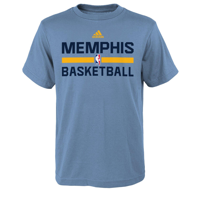adidas™ Boys' Memphis Grizzlies Practice Wear Graphic T-shirt