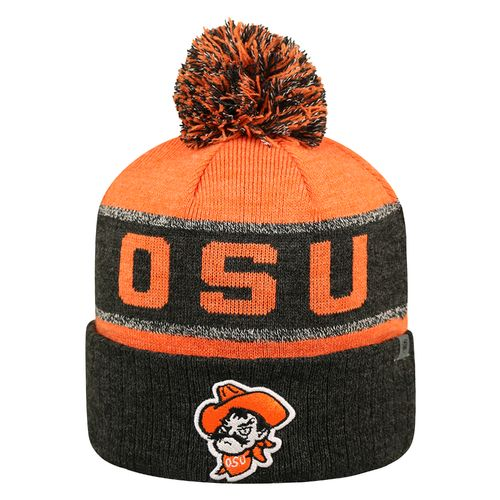 Top of the World Men's Oklahoma State University Below Zero Cuffed Knit Cap