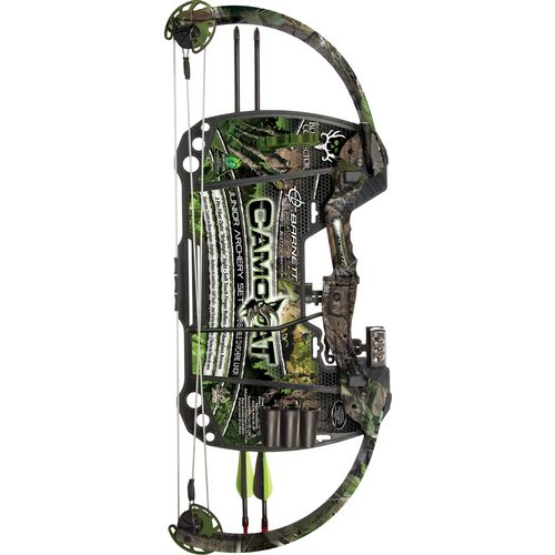 Display product reviews for Barnett Bone Collector Brotherhood Camocat Compound Bow