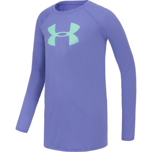 Under Armour® Girls' Big Logo Long Sleeve T-shirt