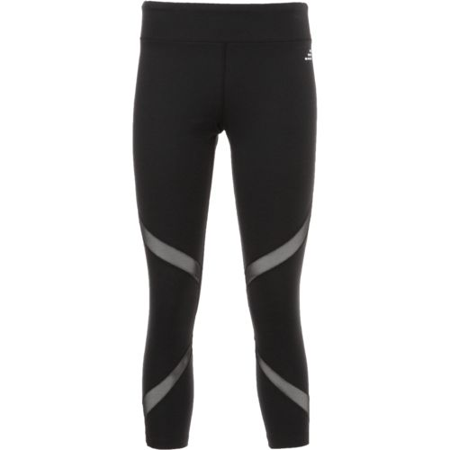 Display product reviews for BCG Women's Double Mesh Piecing Training Capri Pant