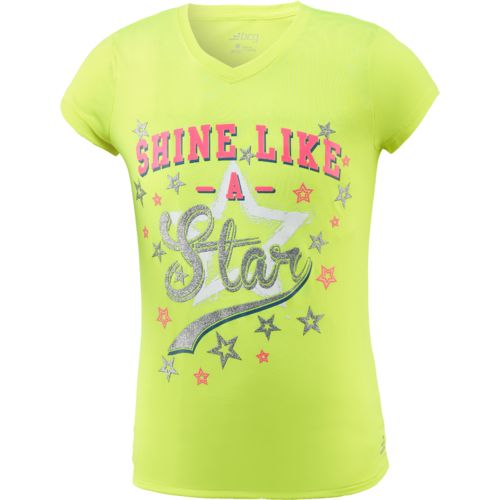 BCG Girls' TURBO Moisture Wicking Training T-shirt