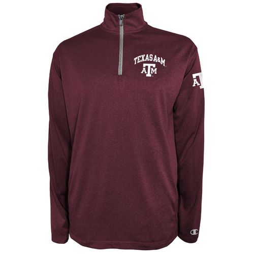 Champion™ Men's Texas A&M University Victory 1/4 Zip Pullover