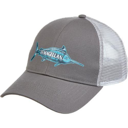 Magellan Outdoors Men's Sketched Marlin Trucker Cap