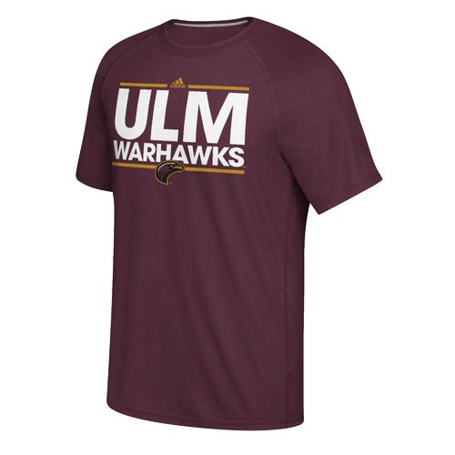 adidas Men's University of Louisiana at Monroe Dassler Ultimate Short Sleeve T-shirt