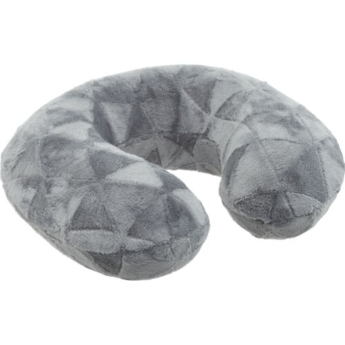 Northpoint Trading Ardour Corduroy Embossed Memory Foam Neck Pillow