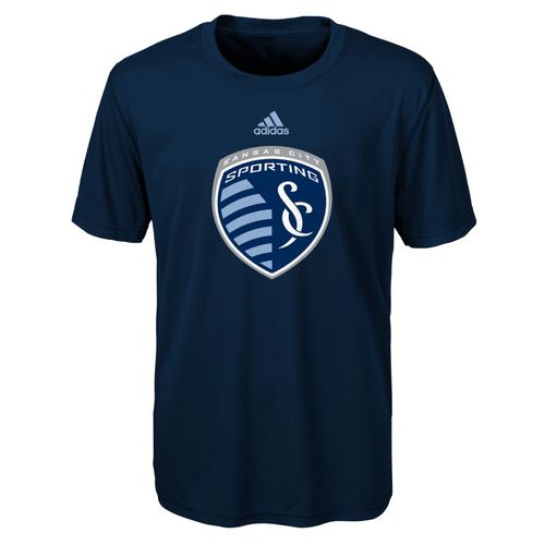 adidas™ Boys' Sporting Kansas City Primary Logo climalite® T-shirt