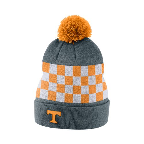 Nike™ Men's University of Tennessee Sideline Cuffed Pom Beanie