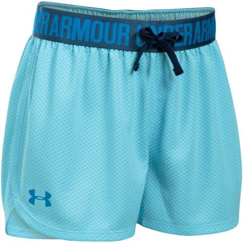 Under Armour Girls' Mesh Play Up Training Short
