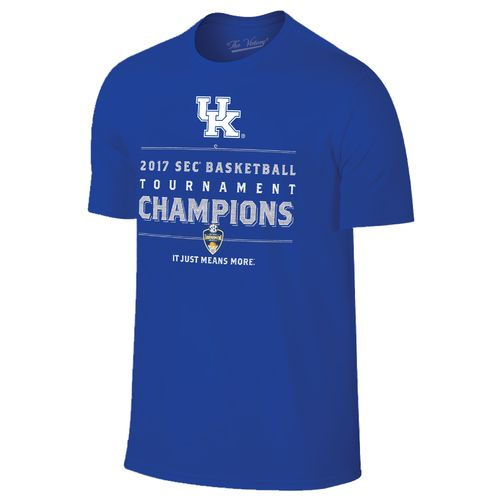 Wildcast Retro Men's University of Kentucky 2017 SEC Men's Basketball Champions T-shirt