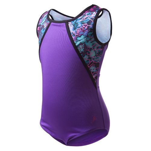 Capezio Girls' Future Star Dreamy Petals Printed Tank Leotard - view number 1